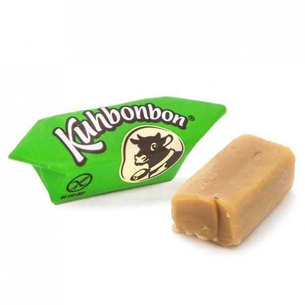 Kuhbonbon Noisette - soft hazelnut caramels