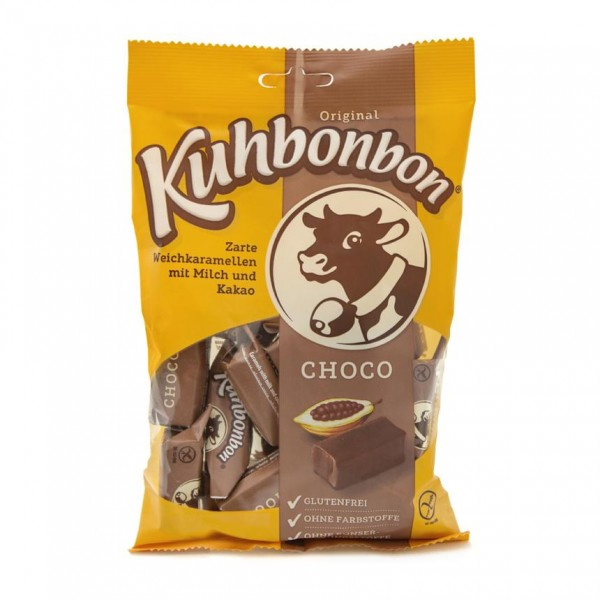 Kuhbonbon Choco 200g - soft caramels with chocolate flavor