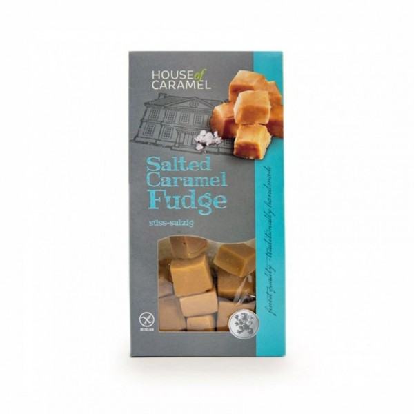 HoC Salted Caramel Fudge 120g
