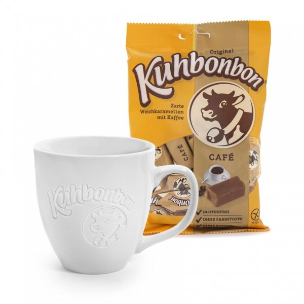 The 2020 edition: Kuhbonbon jumbo mug - plus coffee caramels