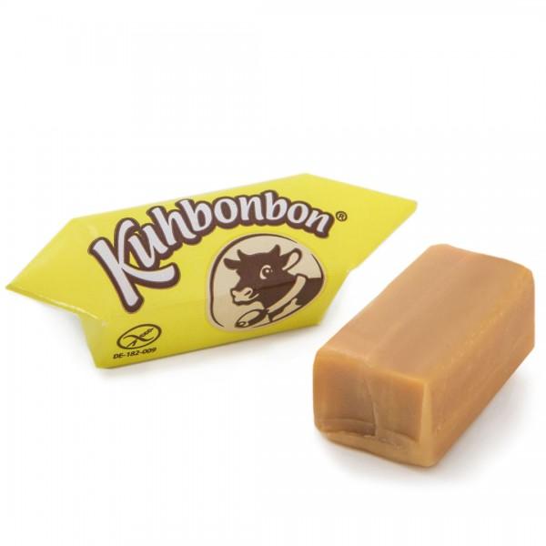 Yummy eggnog soft caramel candy
