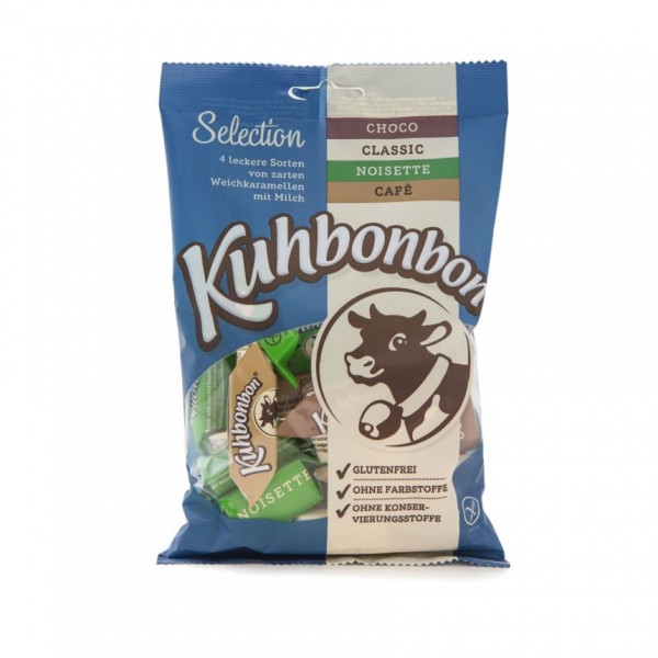 Kuhbonbon Selection - 4er Mix leckerer Karamellen