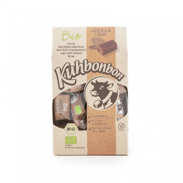 120g leckere Schokoladen Bio-Karamellbonbons