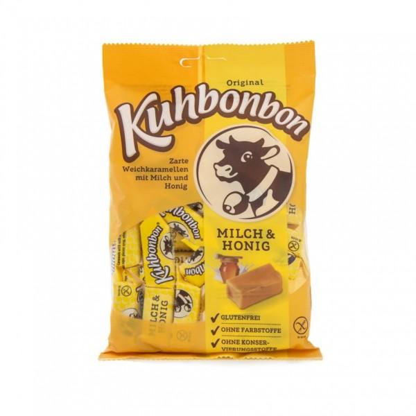 Leckeres weiches Milchkaramell: Kuhbonbon Milch & Honig