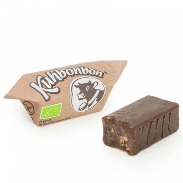 Soft organic chocolate caramels from Kuhbonbon
