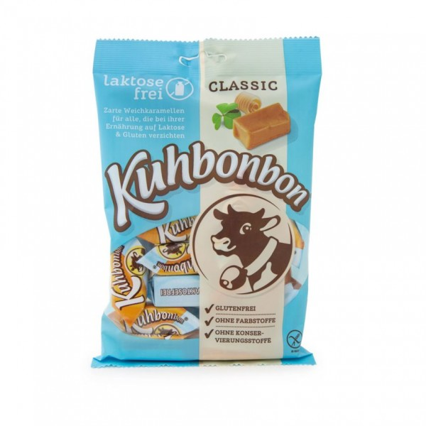 Kuhbonbon Lactosefree 200g - soft caramel candy without milk sugar
