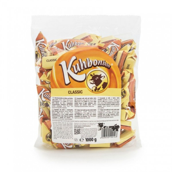 Kuhbonbon Classic 1000g - traditional soft caramel candy