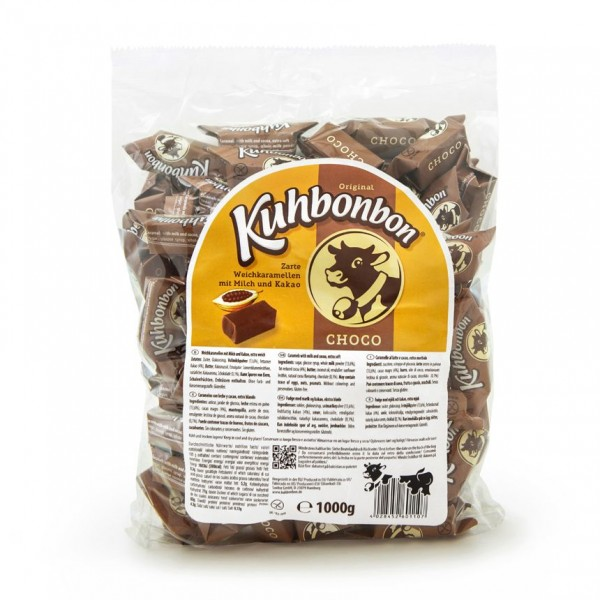 Kuhbonbon Choco - Schokoladen-Karamellbonbons