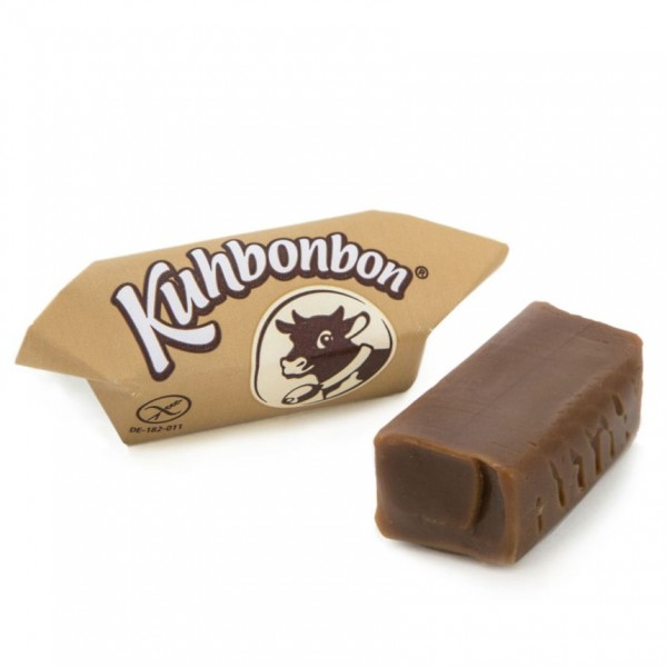 Soft caramels with real coffee flavor