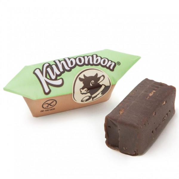 Dairy-free chocolate soft caramels from Kuhbonbon
