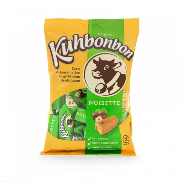 Kuhbonbon Noisette 175g - Milchkaramellen mit Haselnuss
