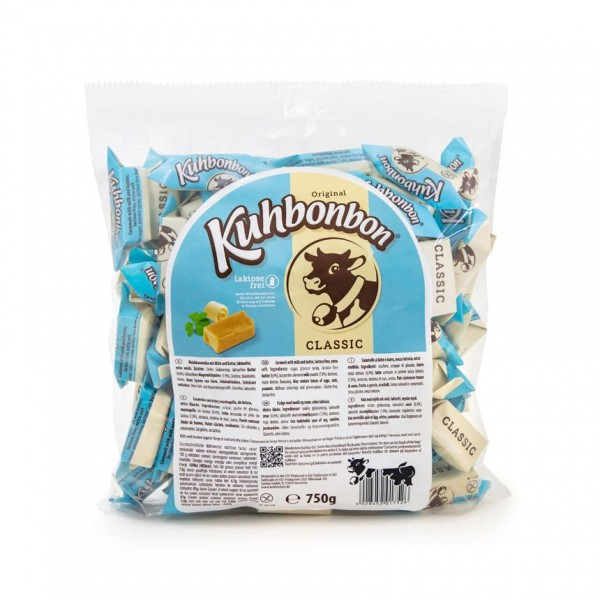 Soft caramels without milk sugar - from Kuhbonbon